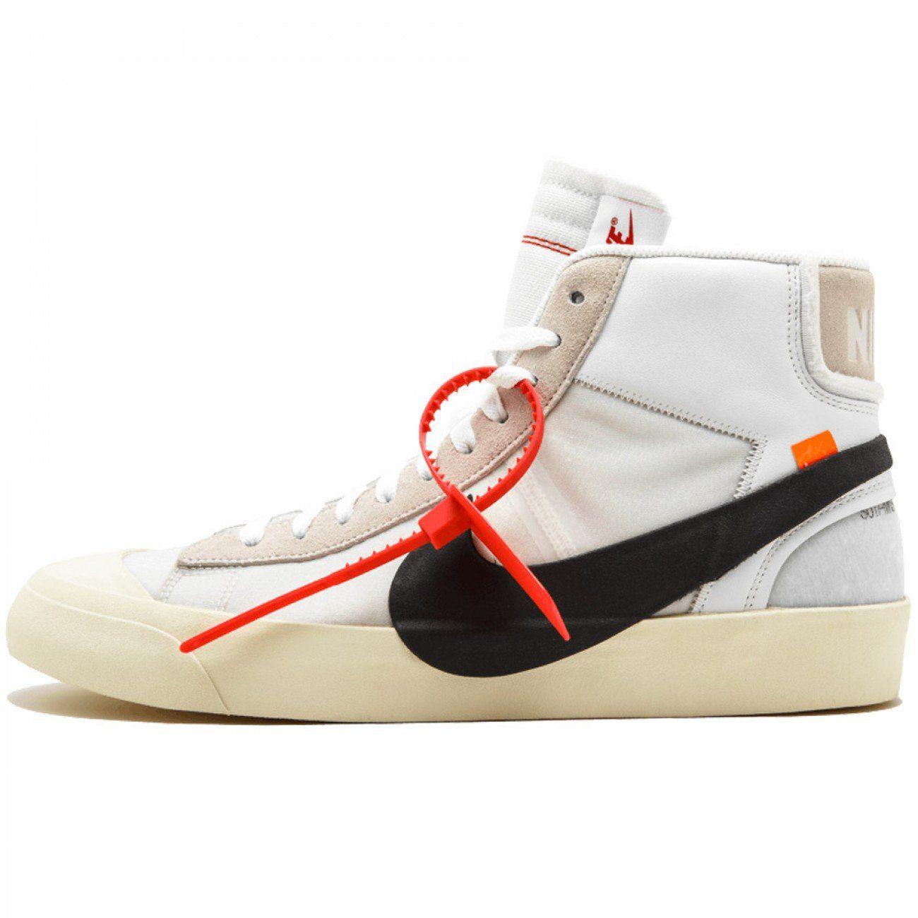 OffWhite x Nike Blazer Mid Nike, Balenciaga speed