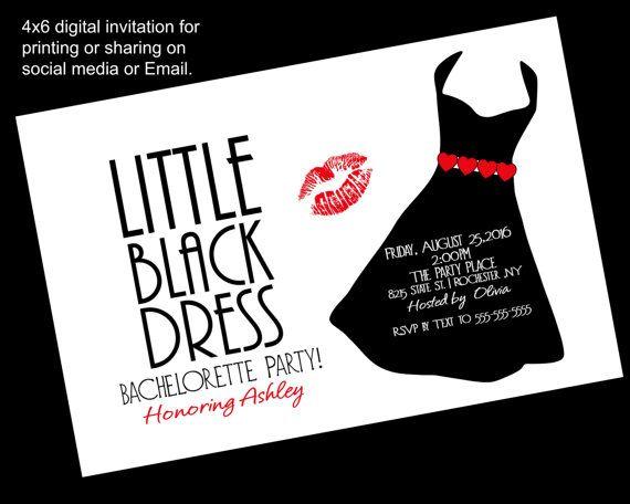 Printable Little Black Dress
