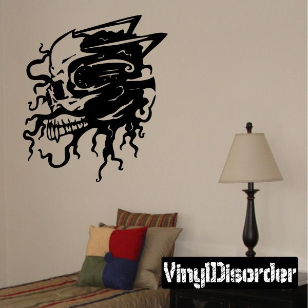 Cyber Skull Wall Decal Vinyl Decal Car Decal DC Car - How to make car decals at home