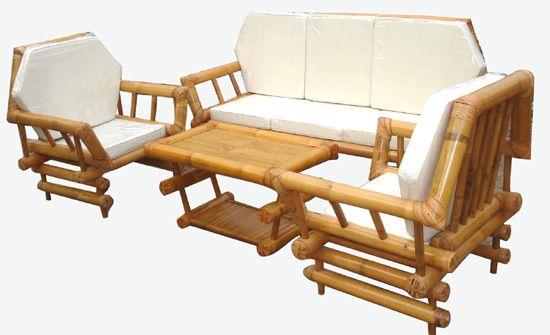 One Of Piper U0026 Billu0027s Neighbors Has Interior Bamboo Furniture.