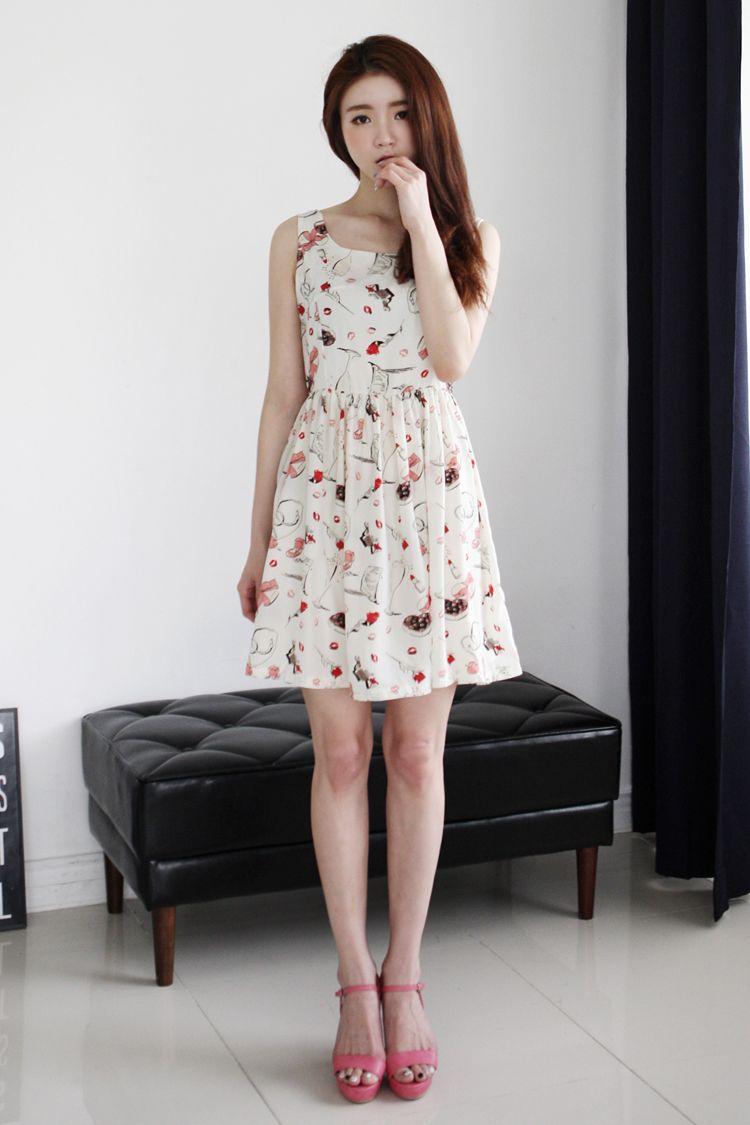 K style summer dresses