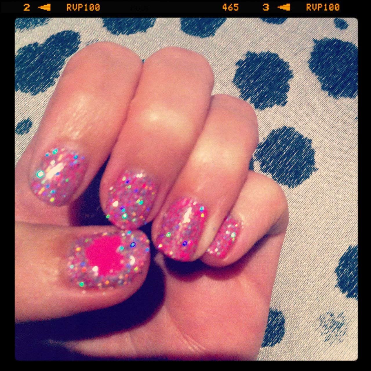 Valentine\'s Day nails. Shellac and additives <3 | claws | Pinterest ...