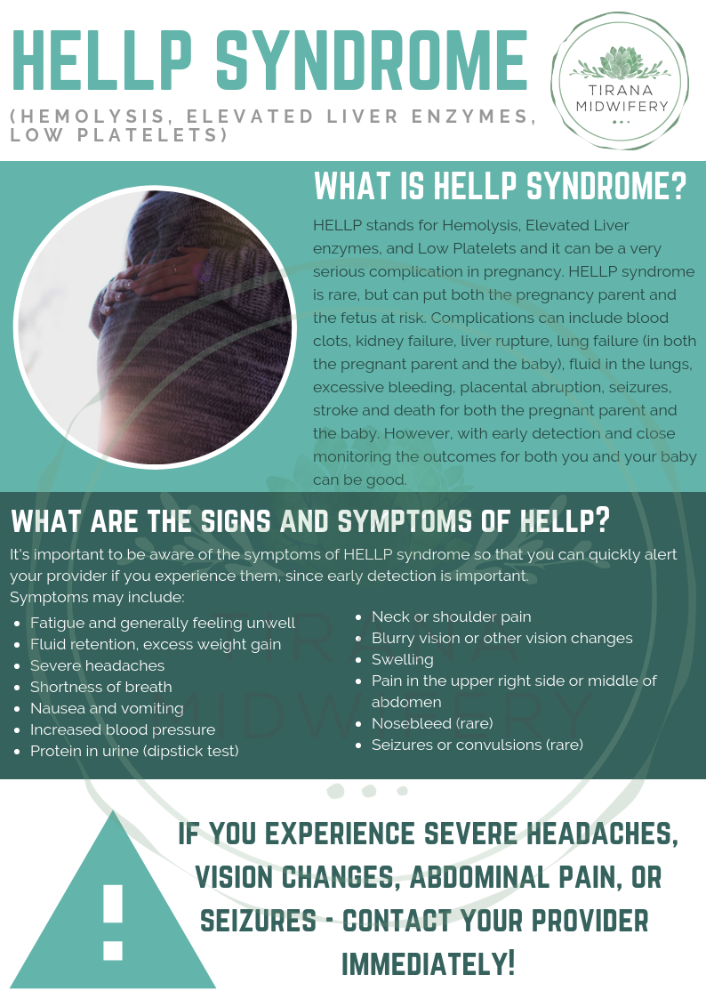 HELLP Syndrome   Hellp syndrome, Elevated liver enzymes, Baby care tips