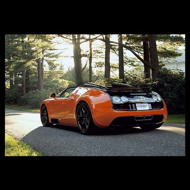 Bugati Car Wallpaper: Enjoying Nature With A Bugatti Veyron