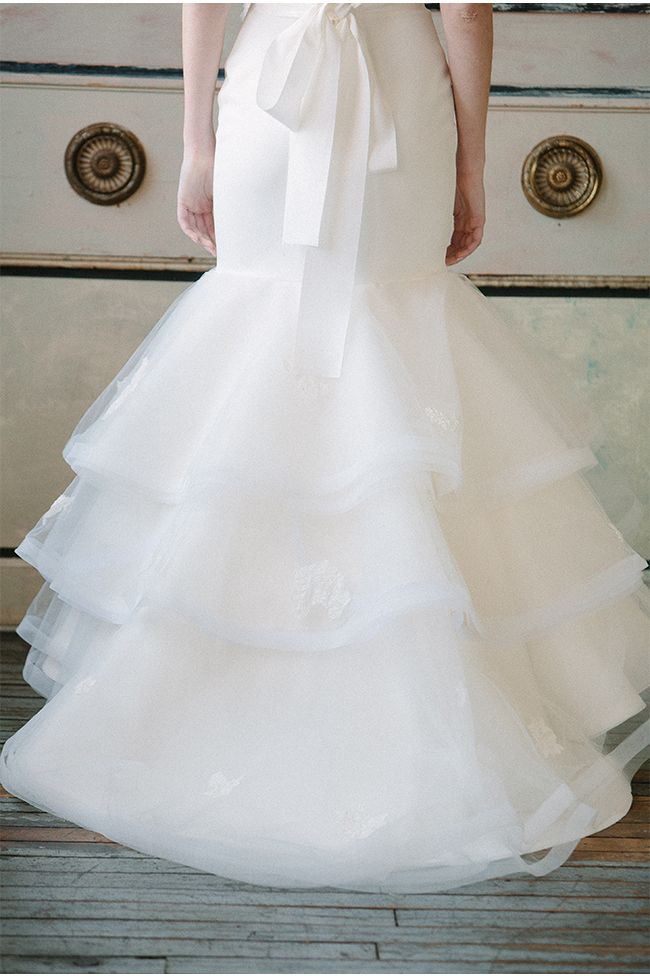 via StyleUnveiled.com / Sareh Nouri Spring 2015 Wedding Dresses / Millie Batista