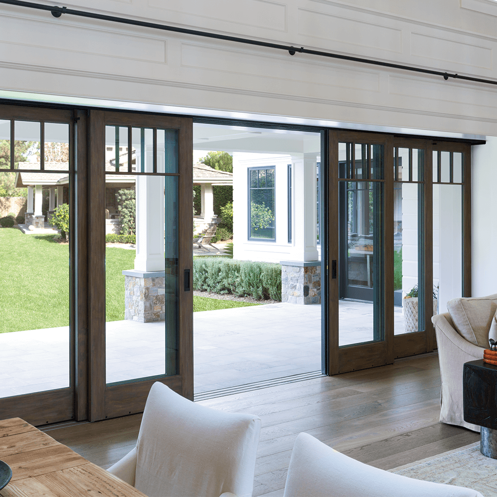 Patio Door Installation St Louis: Architect Series Traditional Multi-Slide Patio Door