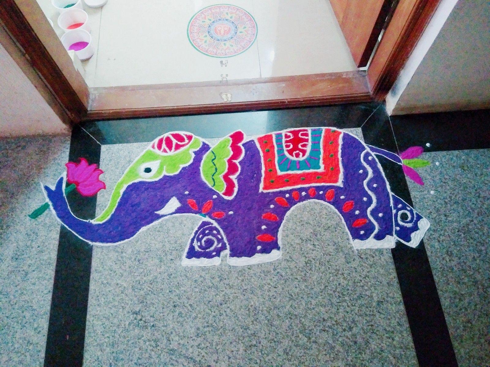 Diwali unique rangoli also designs rh pinterest