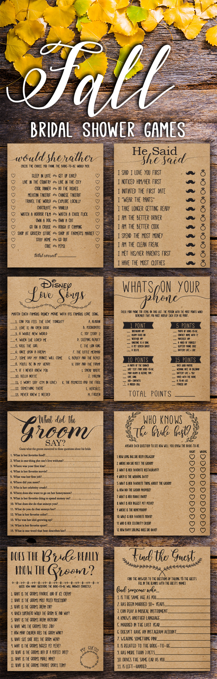 free printable bridal shower games how well do you know the bride%0A bridal shower games  bridal shower games about the bride  bridal shower  games advice