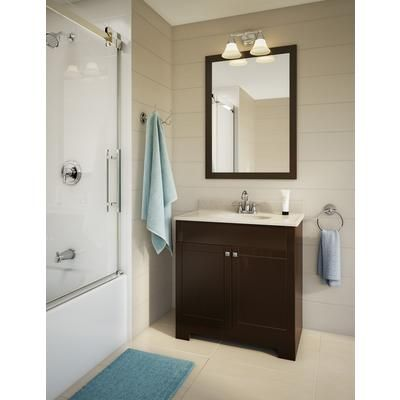 Glacier Bay In Java Vanity Combo HDVOCGLB Home Depot - Glacier bay bathroom cabinets for bathroom decor ideas