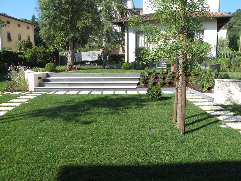 Photo of Homify giardino privato di studio progetto e giardino mediterraneo