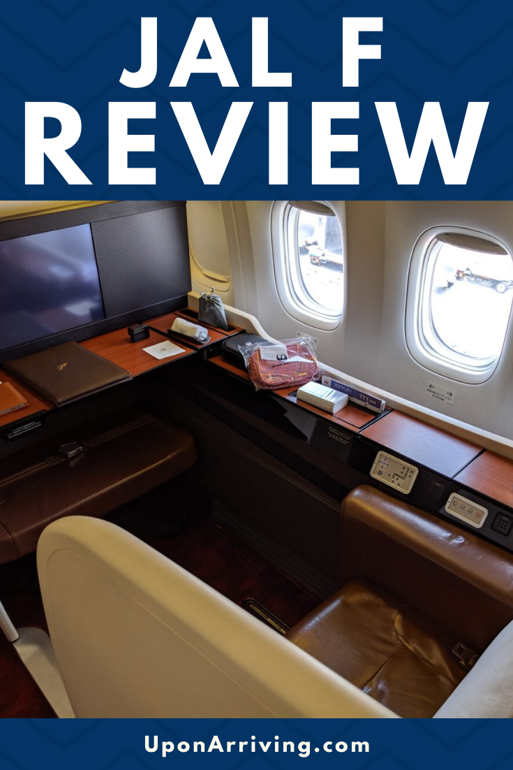 JAL first class from Tokyo (HND) to New York City (JFK