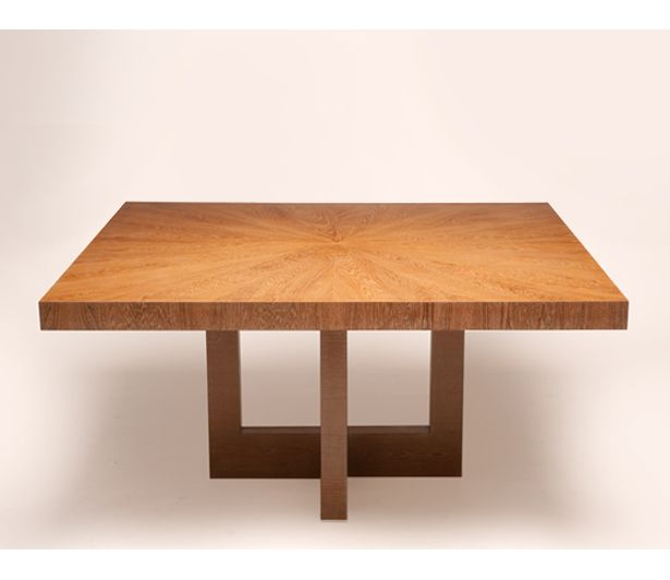 Teak Dining Table From Cliff Young Is A Solid Teak Construction