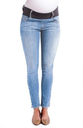 38e5039948a68 Women's Maternal America Maternity Ankle Skinny Jeans - | maternity fashion  | maternity fashion fall/winter | maternity fashion first trimester |  maternity ...