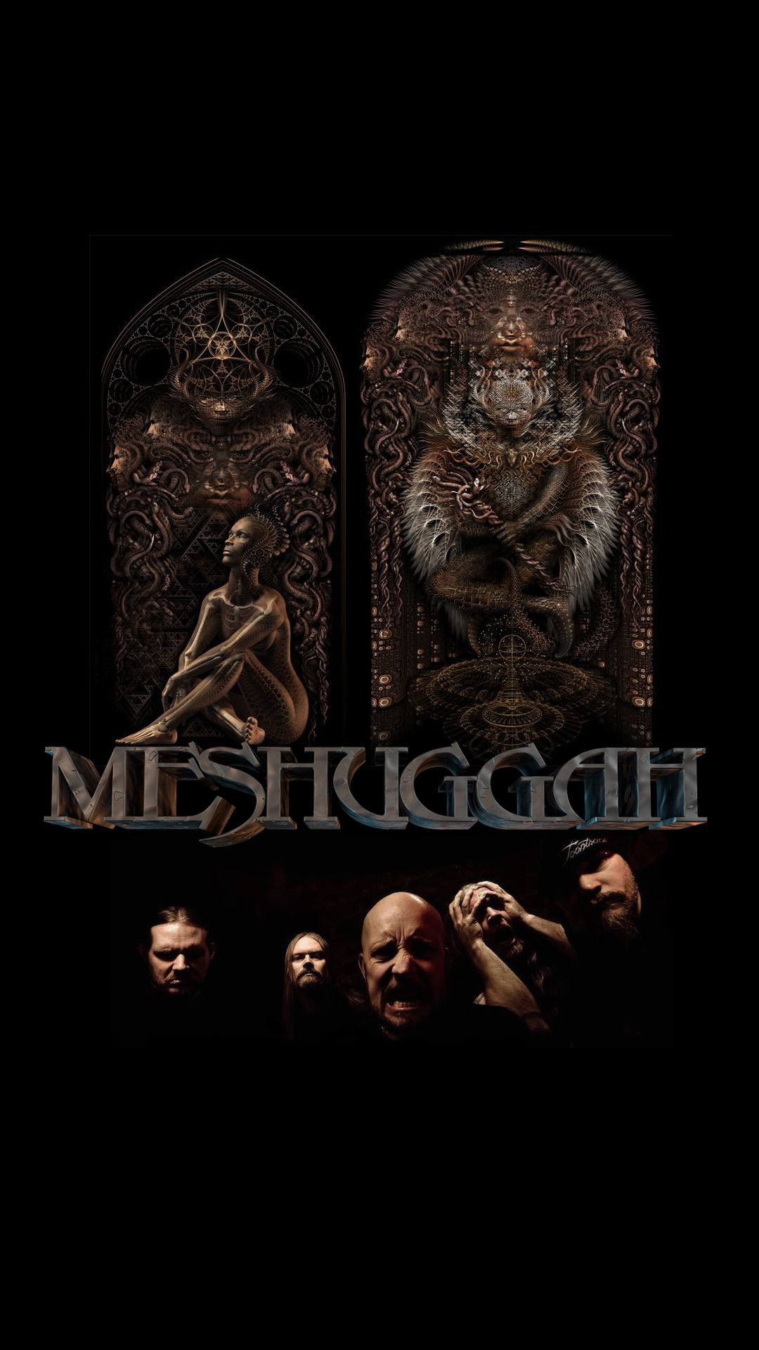 Meshuggah Metal Music Metal Art Heavy Metal Rock