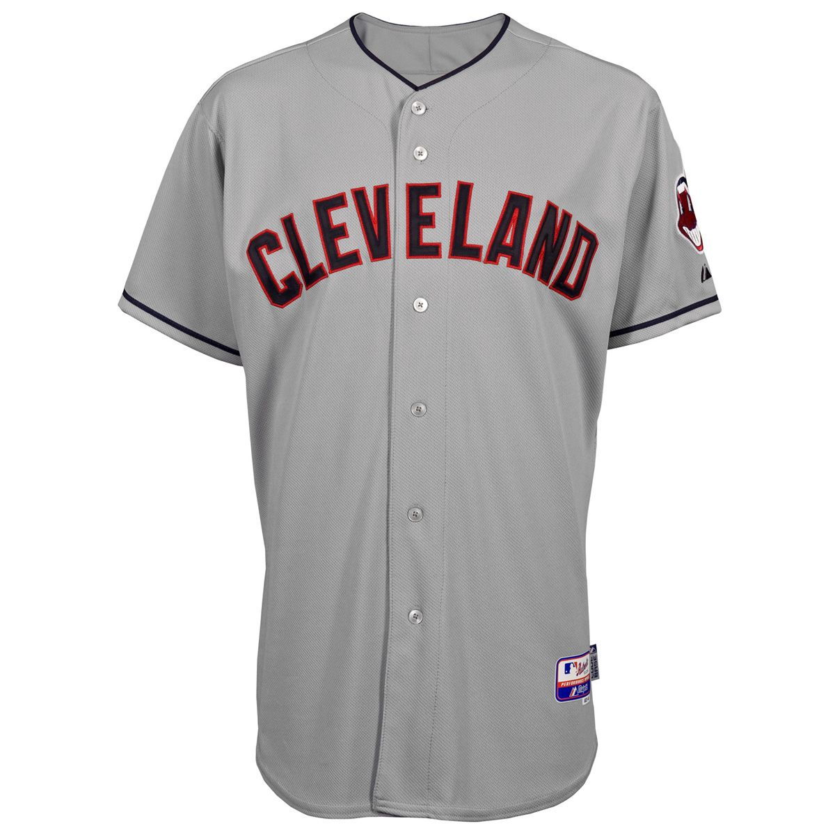 Cleveland Indians Authentic Cool Base Road Mlb Baseball Jersey