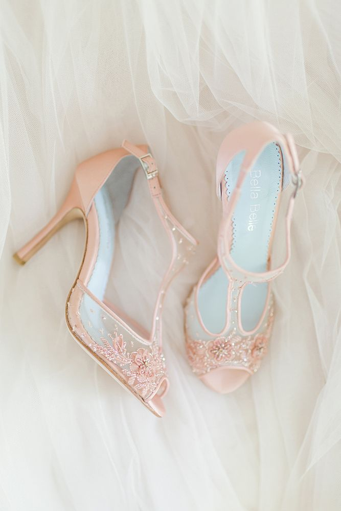 5e6b7c7449 Hottest Wedding Shoes Trends 2018 For Brides | bride | Blush wedding ...