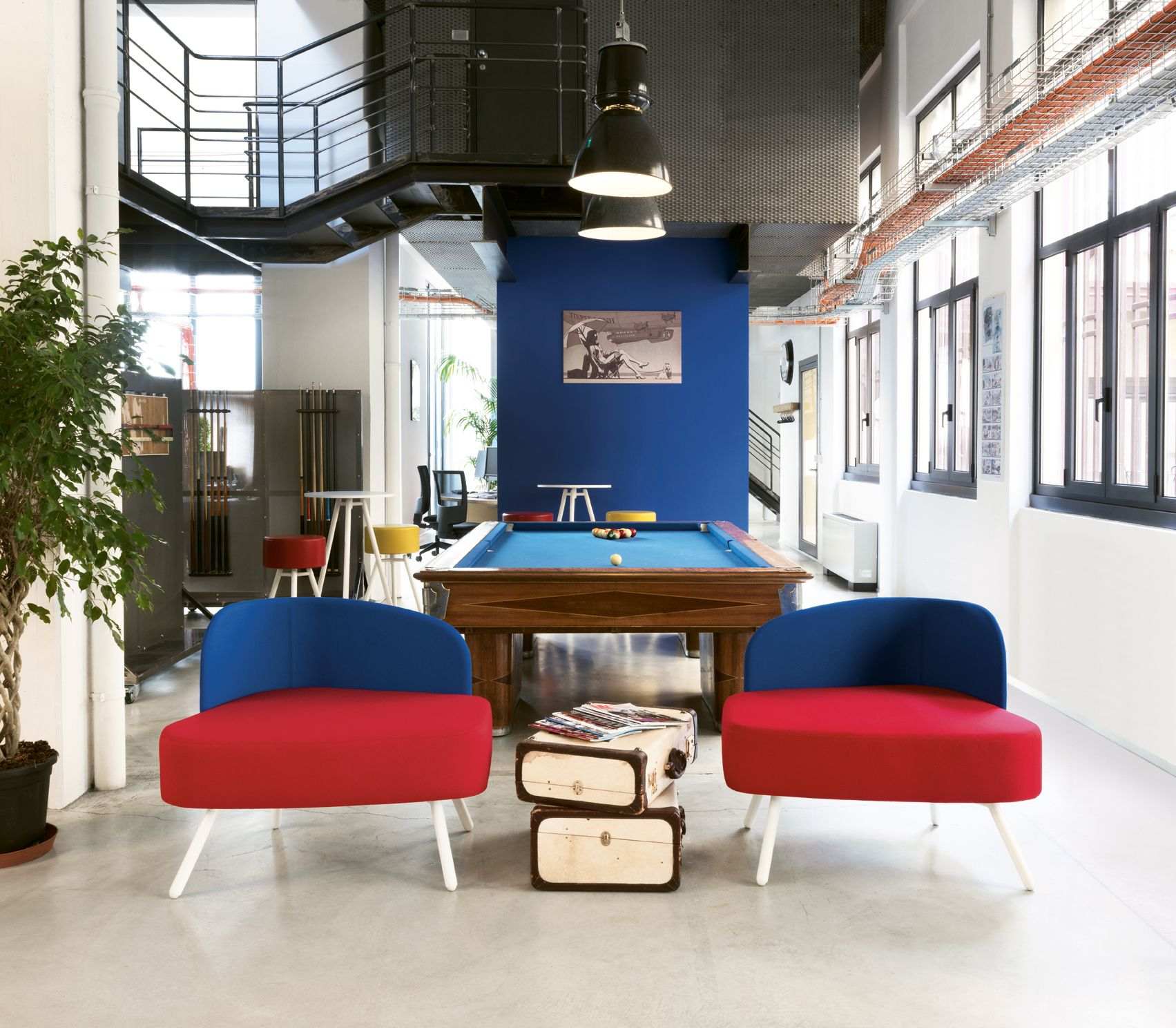 creative office spaces. A Creative Office Space For Company. In Digital Post-production Company Milan, Modular Flexible And Innovative Furniture System. Spaces