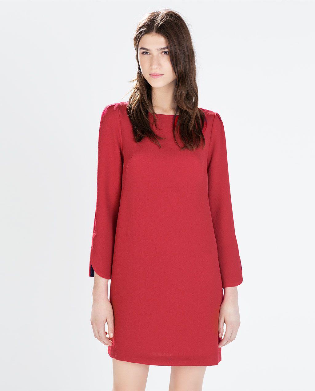 Image de robe droite de zara trucs pinterest straight dress