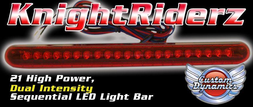 Peer To Peer Car Rental >> Knight Rider LED Light Bar | Bar lighting, Led light bars, Led