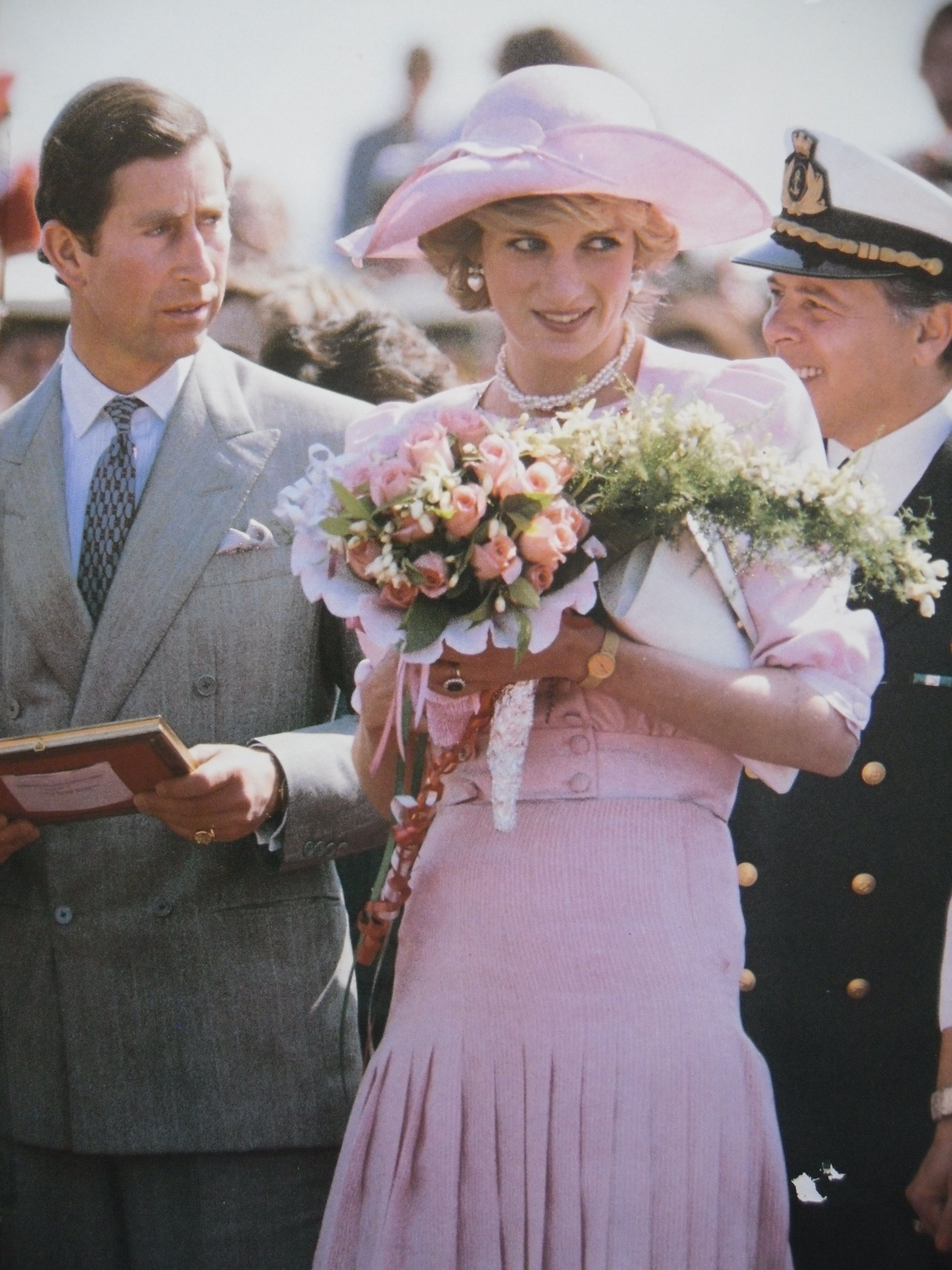 April 30, 1985: Prince Charles & Princess Diana in Catania, Sicily during the Royal Tour of Italy 1985. Day 12.