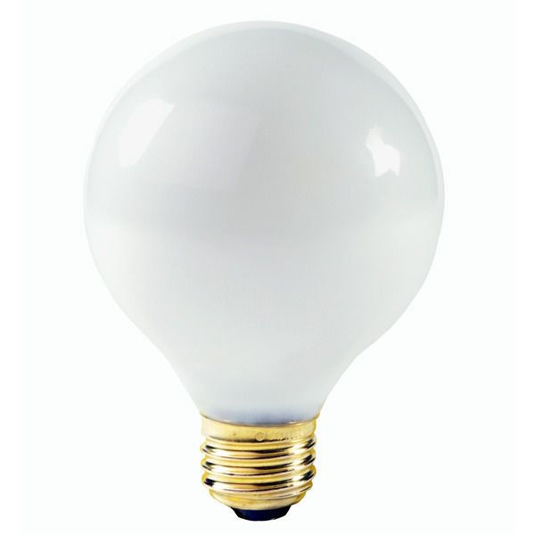 G25 Globe Incandescent Light Bulb 25w 130v Satco A3640 Globe Light Bulbs Light Bulb Globe Lights