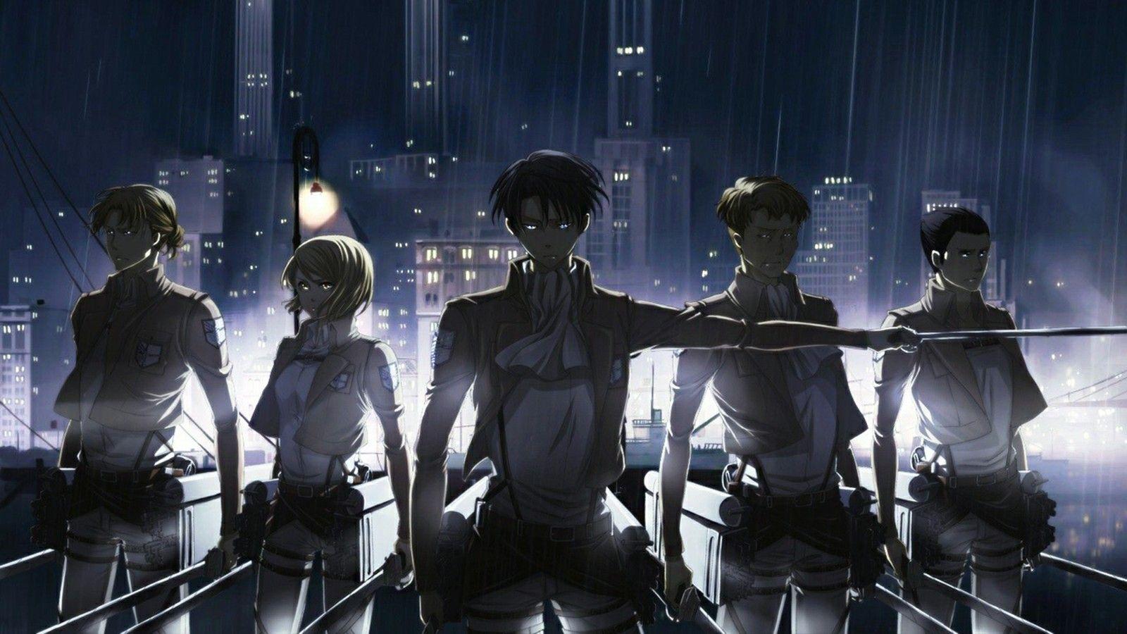 Attack On Titan Original Levi Squad Wallpaper Part 1 Of 3 Attack On Titan Anime Anime Wallpaper Anime