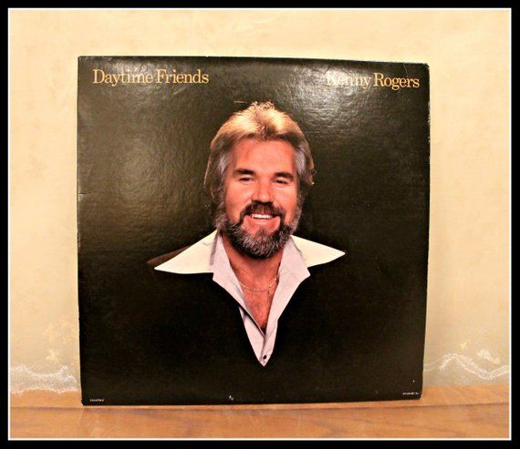 Vintage Kenny Rogers Lp Record Daytime Friends Vintage Records Classic Vinyl United Artists Rec United Artists Vintage Records Country Chart