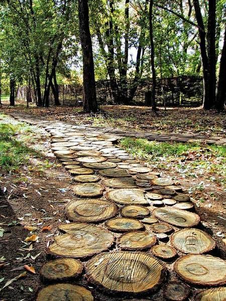 Photo of 30 Green Design Ideas for Beautiful Wooden Garden Paths