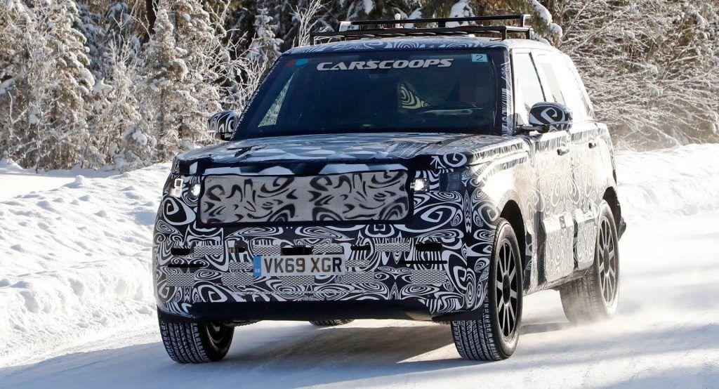New Gen 2022 Range Rover Sport Spied Could Mark Return To Bmw V8 Engines In 2020 Range Rover Sport Bmw V8 New Range Rover Sport