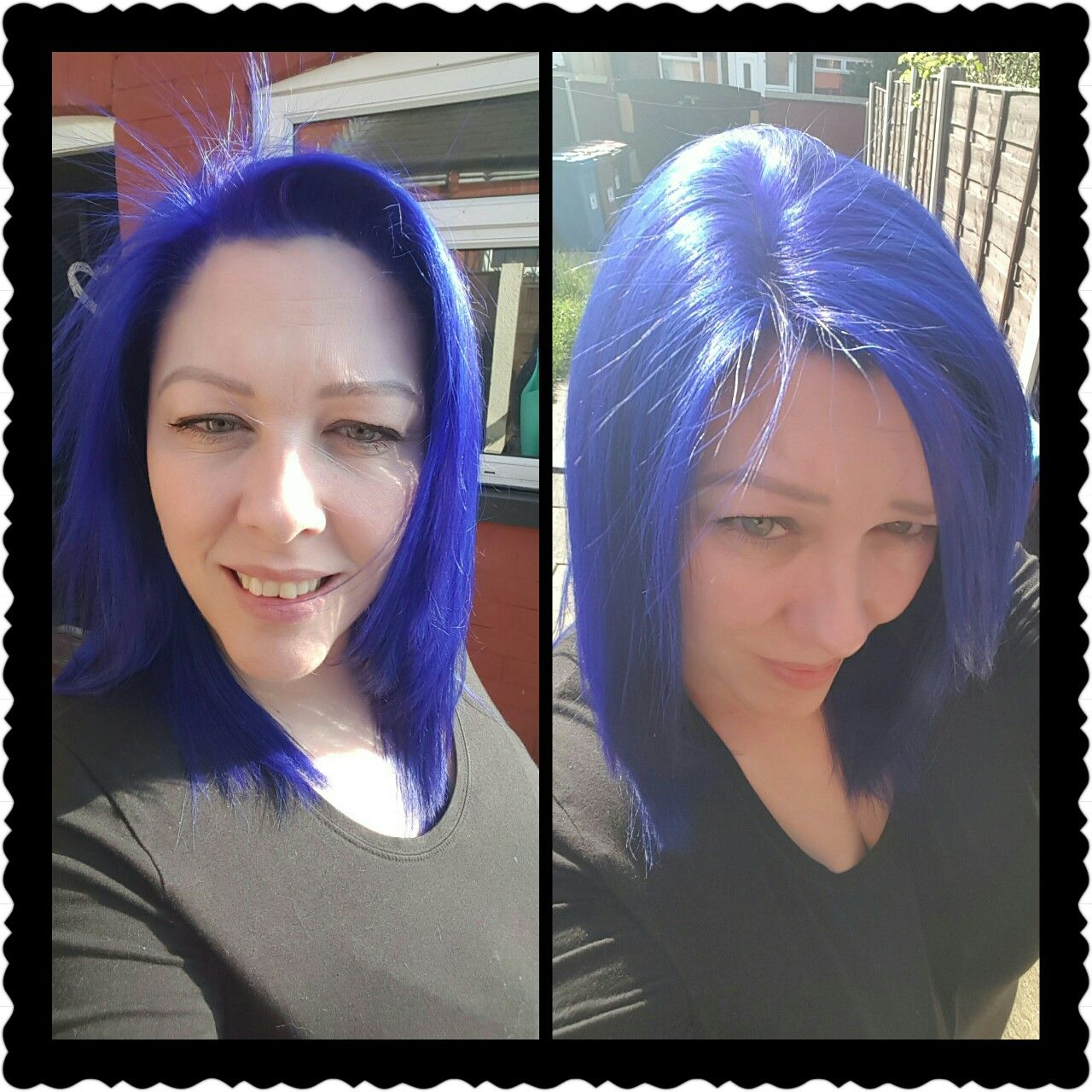 Loving My New Hair Colour Iroiro 30 Iro Violet 4oz On Bleached Hair Bleached Hair New Hair Colors Treatment For Bleached Hair