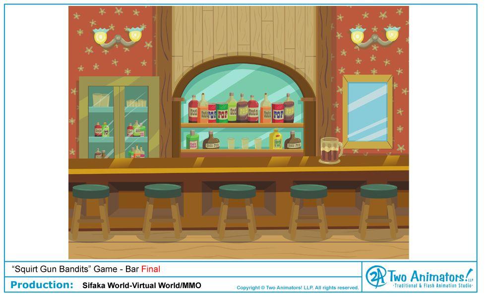 Image result for cartoon bar scene