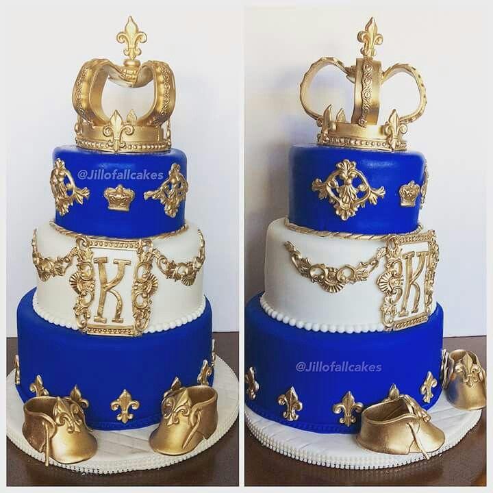 Royal baby shower cake | Mickey birthday cakes, Shower ...