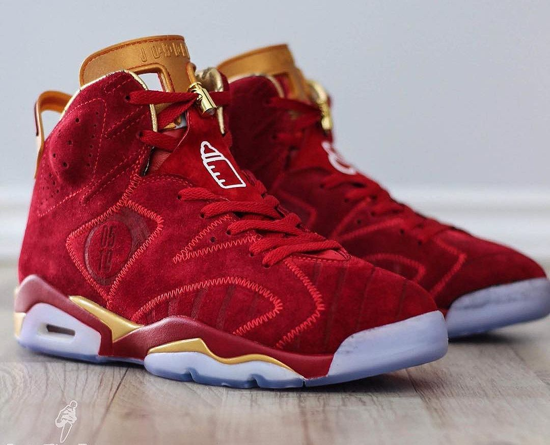 Air Jordan 6 Retro Doernbecher 'Blood Red' | JCLDV | Bottes