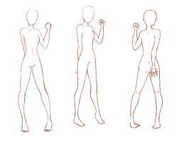 Image result for anime body base | Anime body bases | Pinterest ...