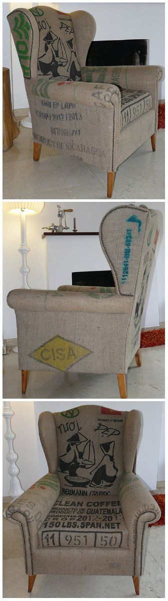 Sillon orejero original vintage gearecicla coser tapiceria su pinterest sillones - Sillones originales ...