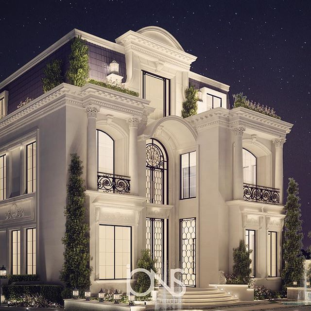 Architecture design for Classic house exterior design