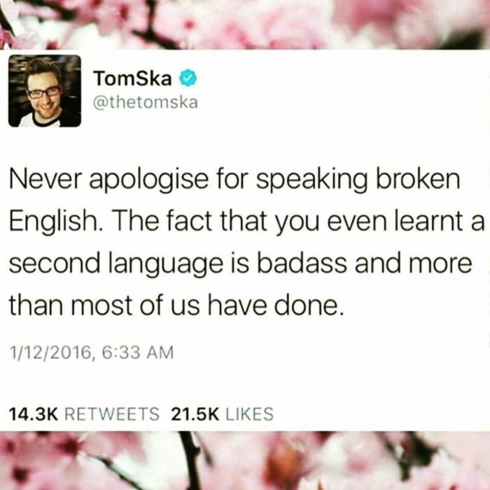 Tomska Speaking The Truth Bilingual Humor Learning A Second Language Funny Quotes