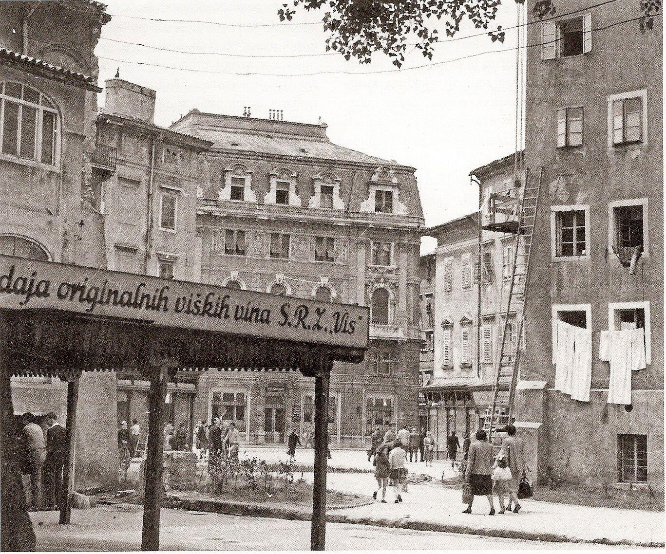 Rijeka 1947 Rijeka Old Images Croatia