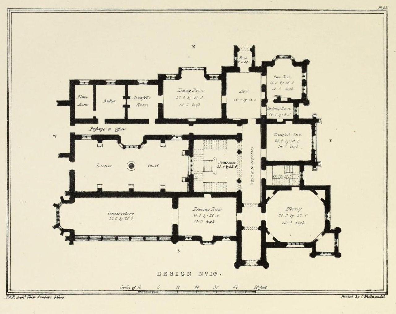 Servant Quarters Floor Plans Floor Plan For A Country Estate England Floor Plans