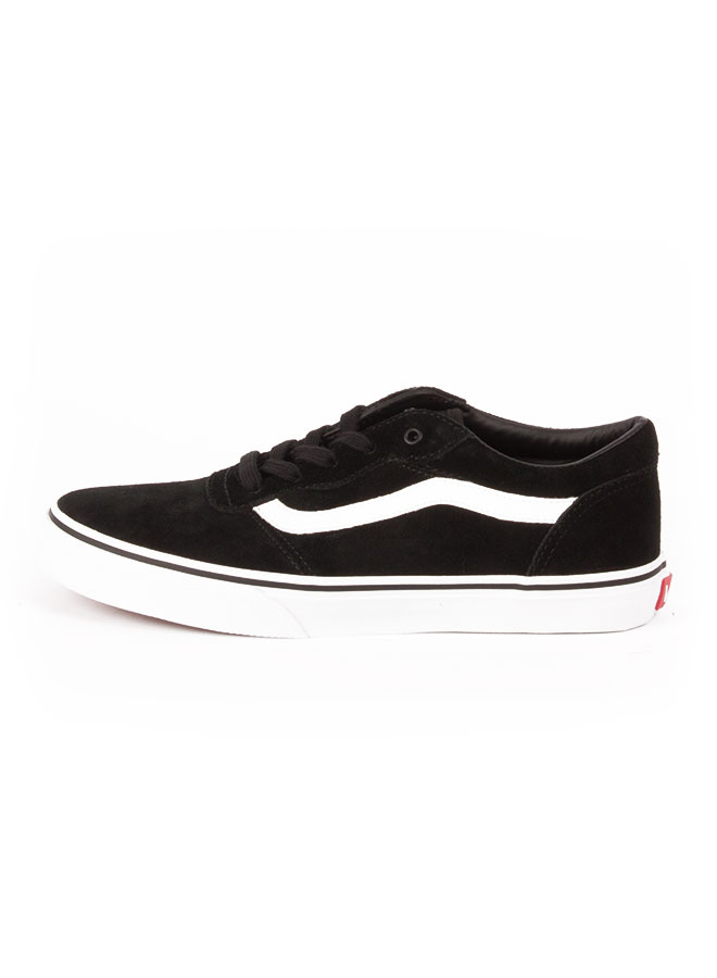 695e746d6 VANS MILTON Y(SUEDE) BLACK WHITE en tienda online KAOTIKO