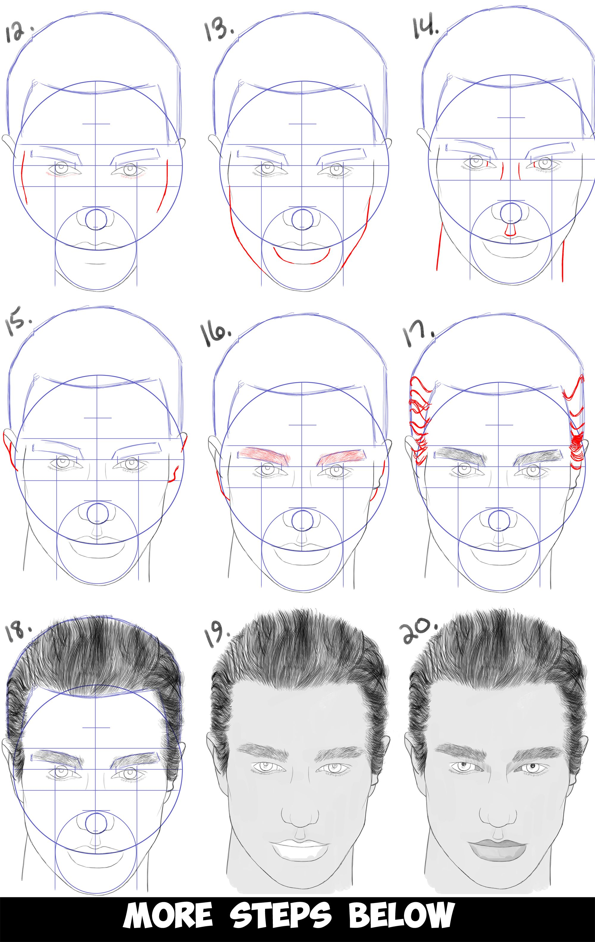 How to learn to draw a man 49