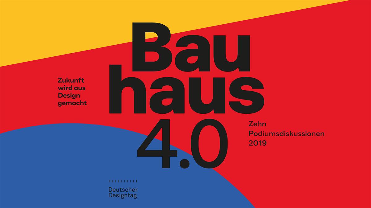 Bauhaus 4 0 Meets Typography Web Design In 2020 Webdesign Typografie Interaction Design