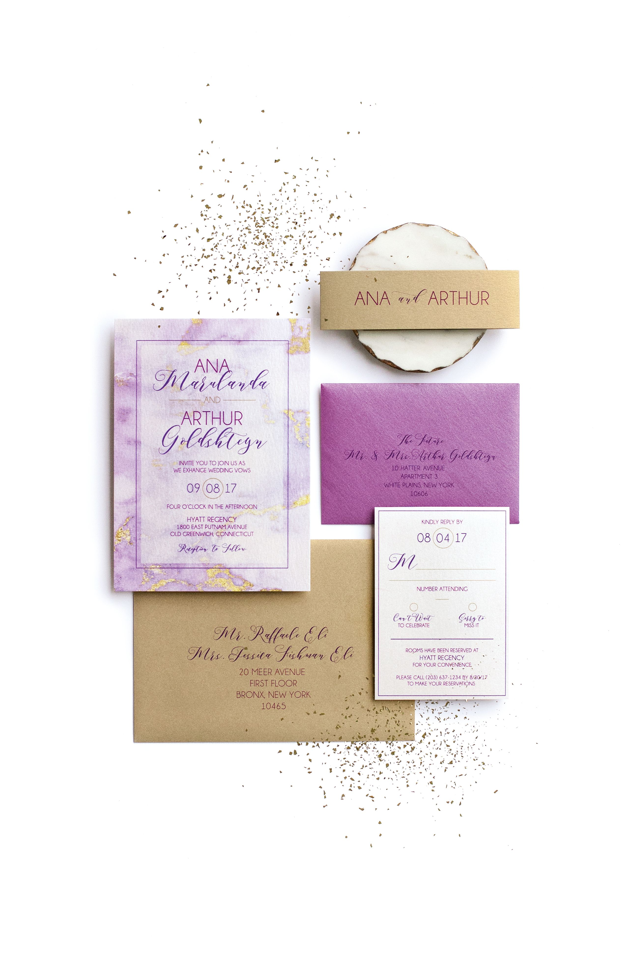 Laura Damiano Designs offers beautifully crafted wedding invitations ...