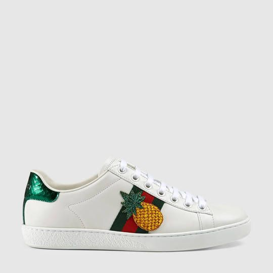 6e5bad3f857676 Gucci Ace embroidered low-top sneaker