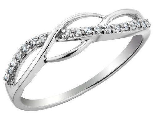 Diamond Promise Ring 1 10 Carat Ctw In Sterling Silver Myjewelrybox 99 00 Free Signature Myjewelrybox Diamond Promise Rings Diamond Promise Promise Rings