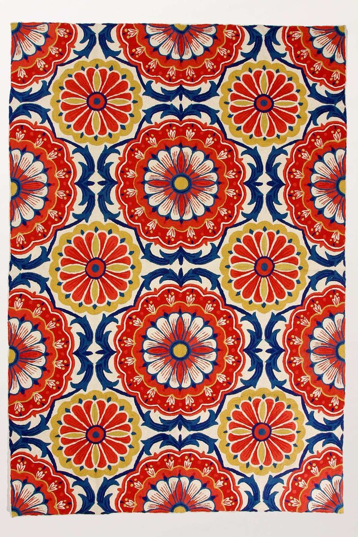 suggest a similar bright colorful rug