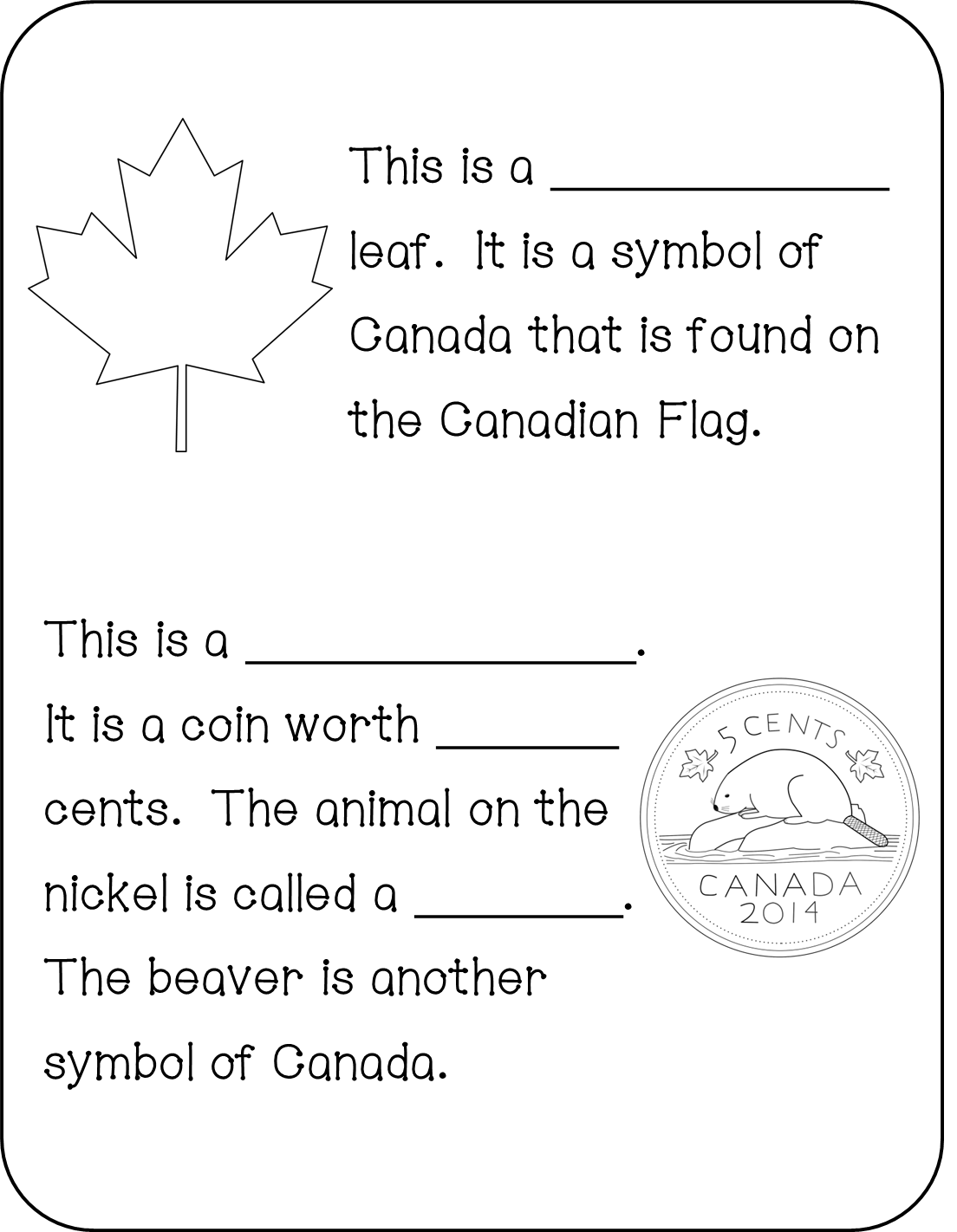All about Canada! All about canada, Canadian symbols