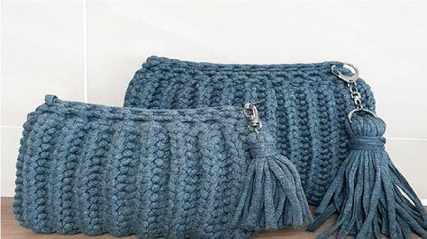 클러치백 뜨기(clutch croche)