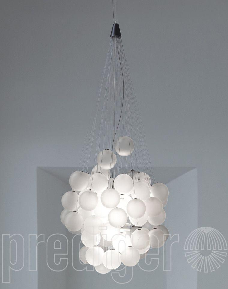 Luceplan Stochastic Contract Pendelleuchten - 72 Kugeln u2013 Design - wohnzimmer design leuchten