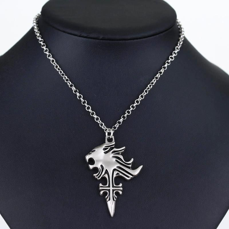 Pcmos 2017 new anime final fantasy viii 8 griever squall leonhart pcmos 2017 new anime final fantasy viii 8 griever squall leonhart lion head necklace mozeypictures Gallery